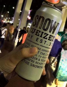 Snowy Weizen Beer by EST33