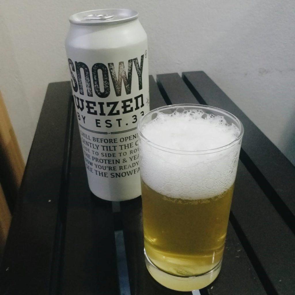 เบียร์ Snowy Weizen By EST.33