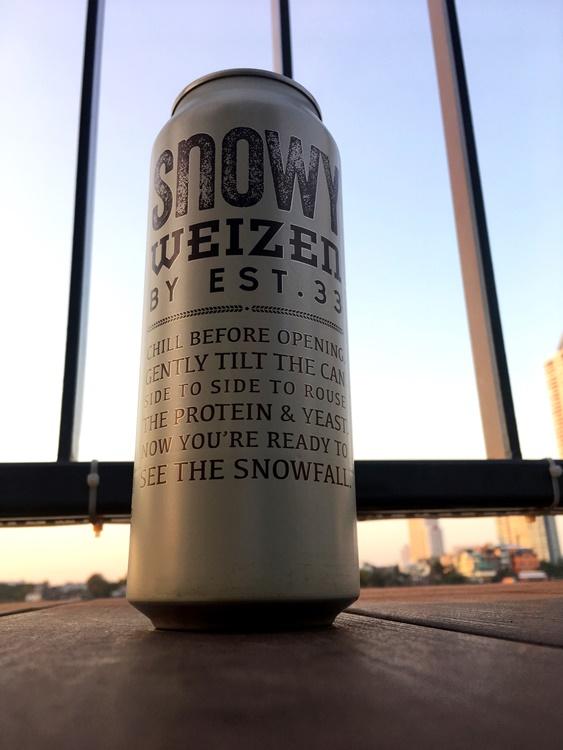 เบียร์ Snowy Weizen