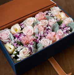 กล่องดอกไม้วาเลนไทน์