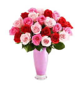 แจกันดอกไม้วาเลนไทน์